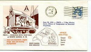 Alerte 1978 Fcrs Hoisted Test Bay White Sands Missile Range Space Shuttle New Mexico