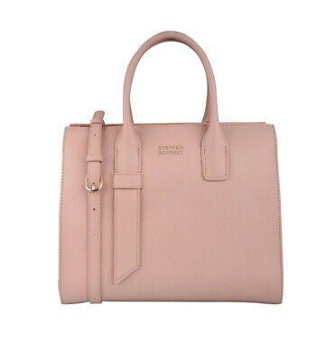 NEU! STEFFEN SCHRAUT Designer Tasche Ledertasche Handtasche nude rosa # | eBay
