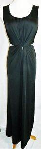 Ark-amp-Co-Maxi-Dress-Stretch-Sleeveless-Long-Black-Gown-size-Medium-Bodycon