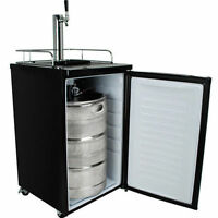 Full Size Keg Refrigerator, Draft Beer Kegerator Cooler Compact Dispenser Fridge