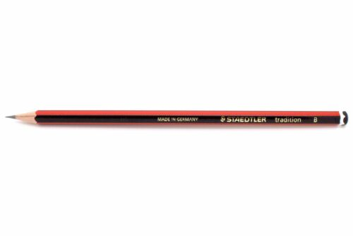 Härtegrad STAEDTLER Bleistift tradition 110 B