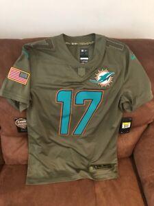Miami Dolphins NFL nike salute to service Ryan tannehill  17 NWT ... c701a6e68