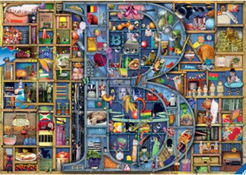 Ravensburger Awesome Alphabet B 1000 piece Jigsaw Puzzle