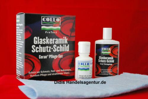 Collo ProTect Glaskeramik Schutz-Schild Pflege Set
