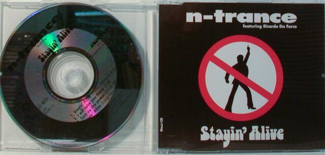 N-Trance Feat. Ricardo Do Force, Stayin' Alive - Maxi CD (O189)