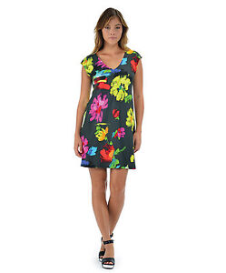 NEW-Jams-World-Sherry-Dress-Floralworks-Hawaiian-Sundress-XL-Made-in-USA