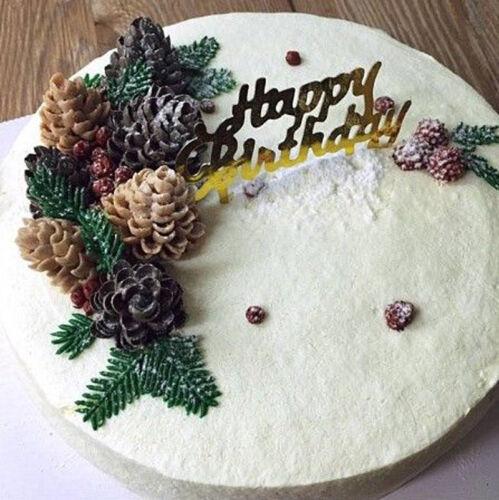 Christmas Pine Cone Silicone Fondant Cake Sugarcraft Mold Chocolate Baking Mould