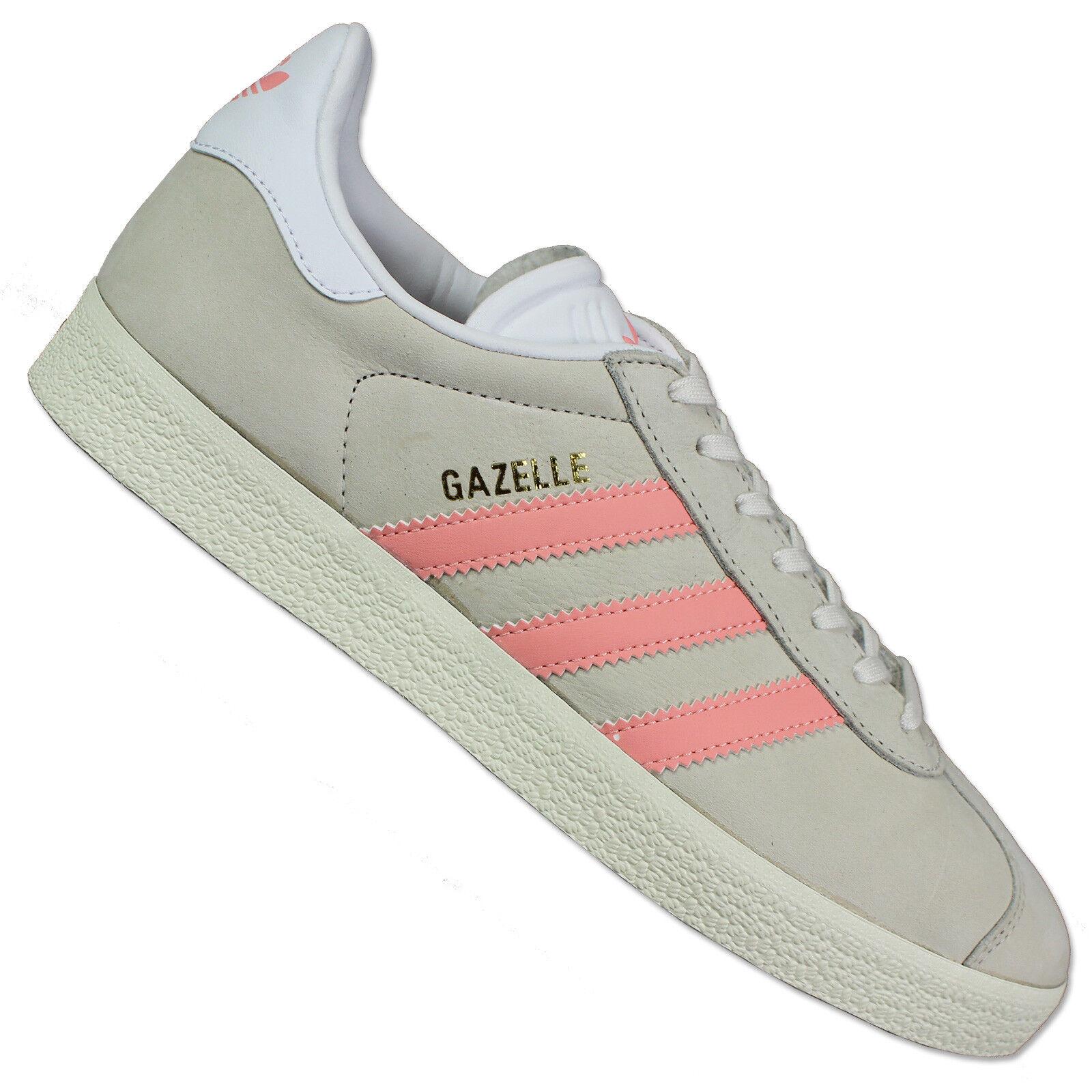 Adidas Originals gacela cortos ocio zapatos Chalk Chalk Chalk blanco Ecru Weiss rosadodo  100% garantía genuina de contador