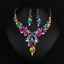 Fashion-Bohemia-Women-Jewelry-Pendant-Choker-Crystal-Chunky-Statement-Necklace thumbnail 94