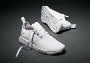 4d8281476b4 Details about Adidas NMD R1 Runner Triple White S79166 (All Size) 3M Boost  OG PK Bape Limited