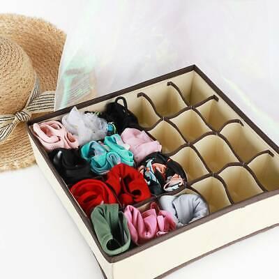 Underwear Bra Divider Closet Organizer Ties Container Home Storage Box