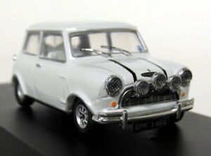 Greenlight-1-43-Scale-Italian-Job-1967-Austin-Mini-Cooper-S-1275-Mk1-White-Model