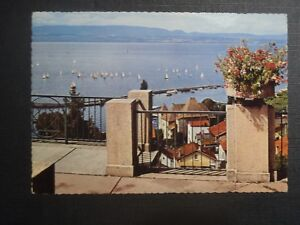 CPM-Thonon-les-Bains-From-the-belvedere-panorama-on-Lake-at-bottom