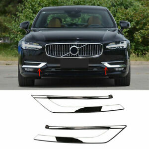 Chrome Front Bumper Grill Cover Trim Molding 2Pcs For Toyota Camry 2018