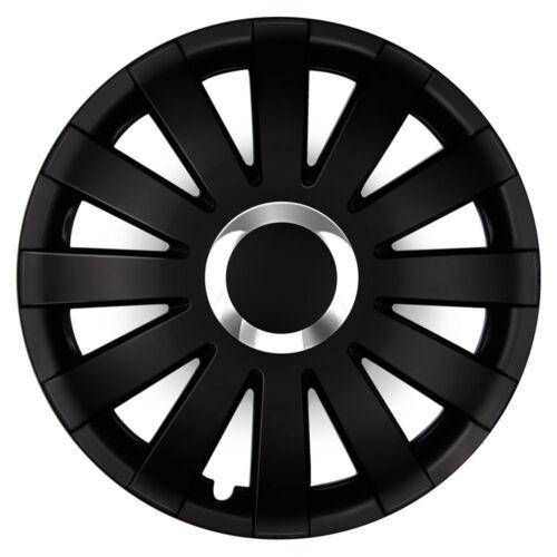 4 Radkappen 16 Zoll ONY schwarz passend für SKODA OPEL Radblenden Radzierblenden
