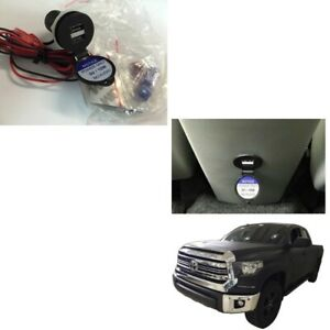 USB POWER PORT FIT FOR TOYOTA APPROVED DUAL (2)  NEW GENUINE OEM