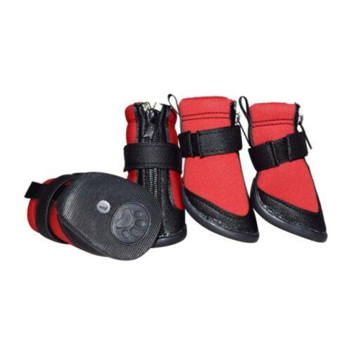 4Pcs Pet Waterproof Non-slip Shoes Winter Dog Cat Snow Boots Warm Puppy Booties