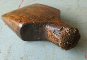 Vintage-Wooden-Lead-Working-Tool