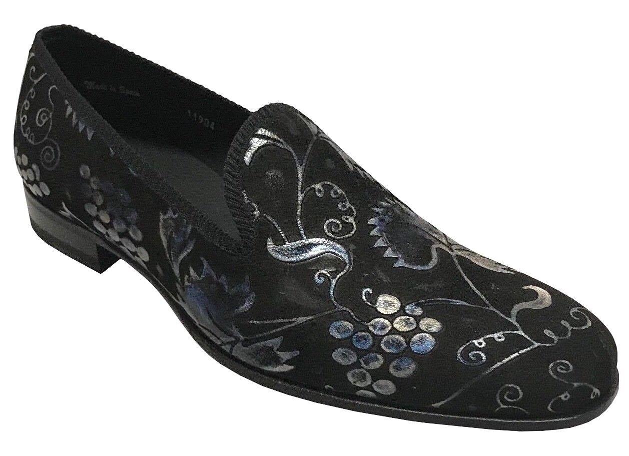 vendite online Mezlan Mezlan Mezlan Uomo nero Suede Slip On Loafer scarpe 8316  best-seller