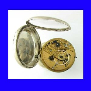 Stunning-Silver-Liverpool-17-Jewelled-Fusee-Massey-3-Pocket-Watch-1827