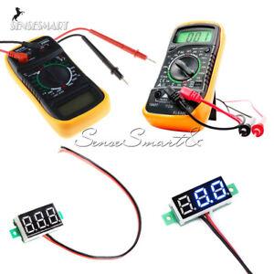 Digital-Multimeter-XL830L-Volt-Ammeter-Ohmmeter-DC-4-7-32VTester-Voltage-Meter