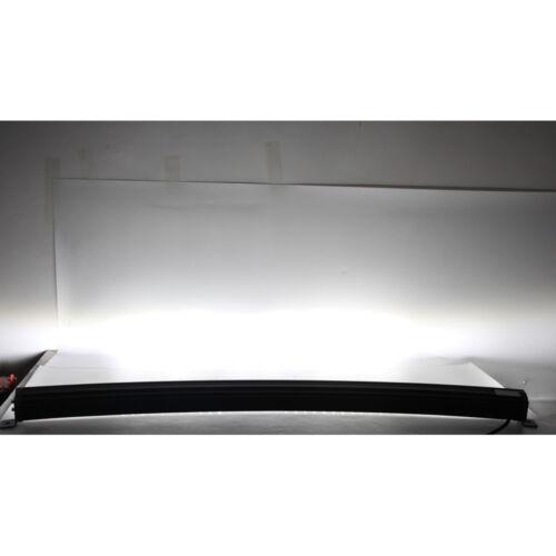 52INCH 300W 4D OPTICALS LED CURVED LIGHT BAR FLOOD SPOT COMBO OFFROAD FOG LAMP