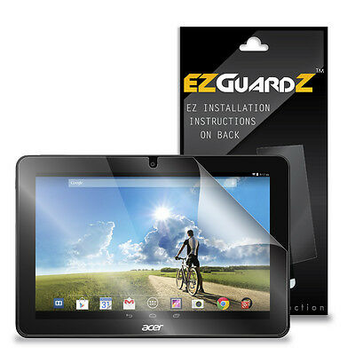 2X EZguardz LCD Screen Protector Skin HD 2X For Acer Iconia Tab 10 A3-A20 Tablet