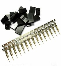 RC Futaba Set Female Plug Charging Battery Connector Gold Plated Male 3 Pin x 10