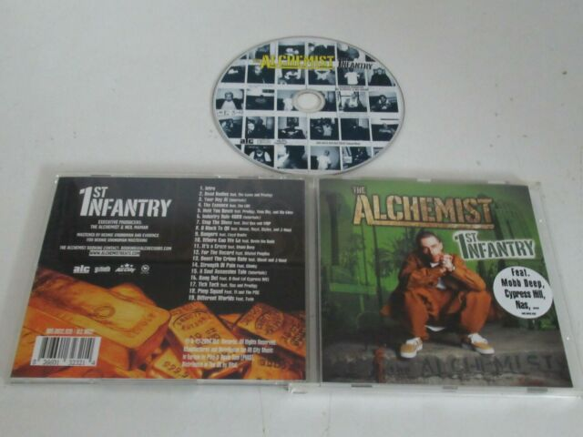 The Alchemist ‎– 1st Infantry /	ALC Records- ALC 0032 / 005.0032.020 CDALBUM