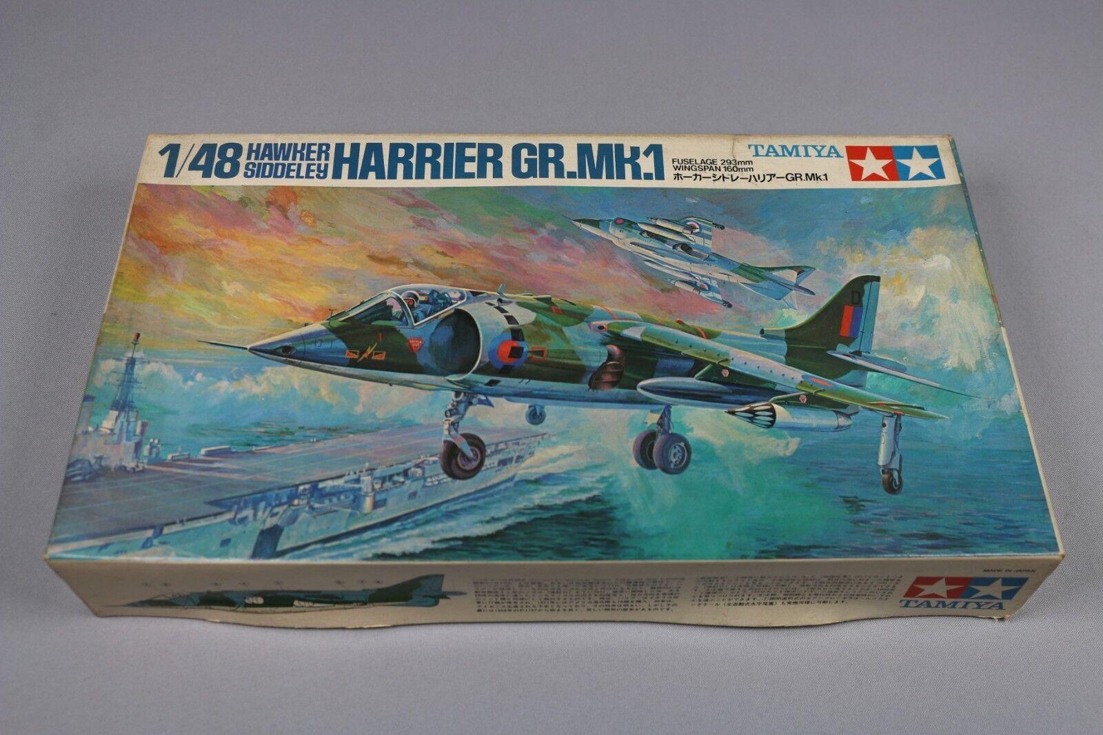 Zf494 Tamiya 1 48 Modelll Flugzeug No. Ma112 Hawker Siddeley Harrier Gr.mk.1