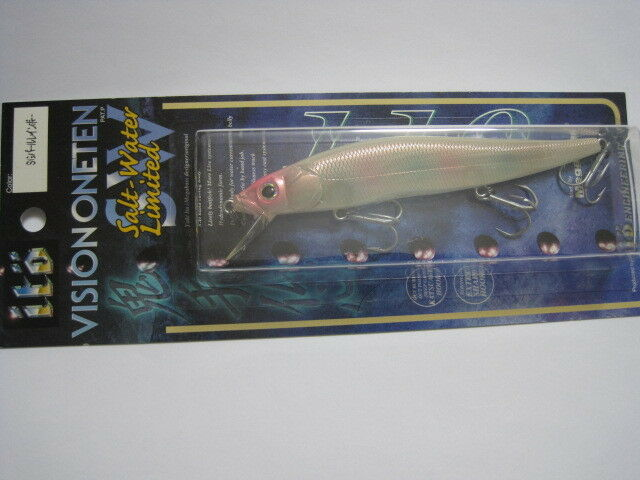 Megabass ITO ONE VISION ONE ITO TEN 110 SW SG PEARL RAINBOW color 2001 NIP Straight eye 6fc5ce