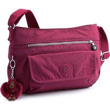 Authentic NWT Kipling Syro Shoulder / Crossbody / Sling Bag - Berry