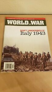World at War #15 - Soft Underbelly: Italy 1943 Wargame - New