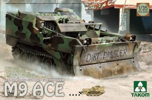 Takom TAO2020 1//35 US M9 ACE Armored Combat Earthmover