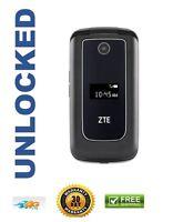Zte Cymbal Z-320 Z320 T-mobile Unlocked 4g Lte Gsm Cellular Flip Phone