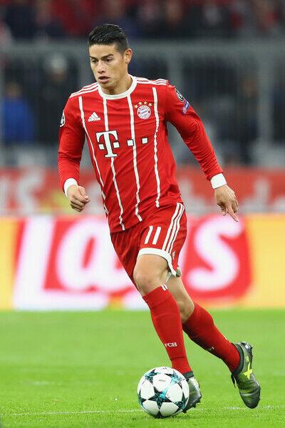 size 40 d2bc8 939c3 2017/18 Adidas adizero FC Bayern München James Rodriguez Home Jersey AZ7960  UCL