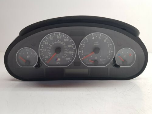 Genuine BMW Manual Speedometer Instrument Clocks Fits 3 Series E46 M3 7834417