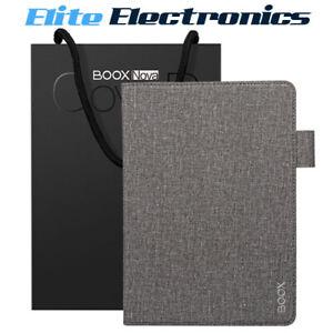 ONYX BOOX Stick Cover Case for Nova2 Nova3 Grey Felt Fabric w/ Adhesive