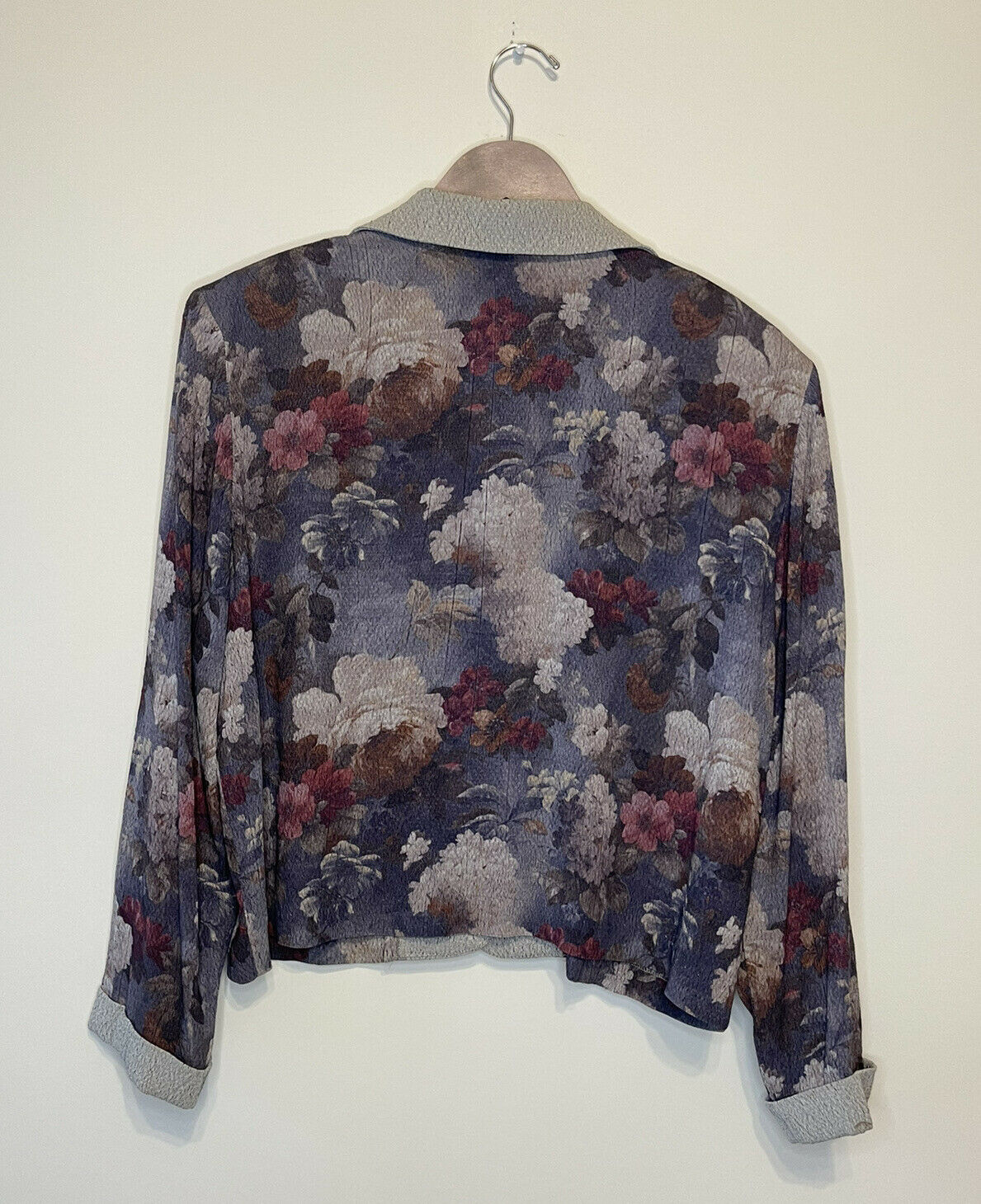 Claire McCardell Size 10 Vintage Jacket Floral Ra… - image 6