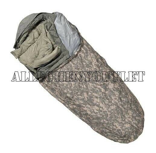 ACU US Military IMPROVED IMSS 5 Part MODULAR GORETEX SLEEPING BAG SYSTEM MINT