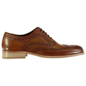 Firetrap-Blackseal-Somerset-Brogues-Mens-Shoes-UK-8-EUR-42-REF-M116