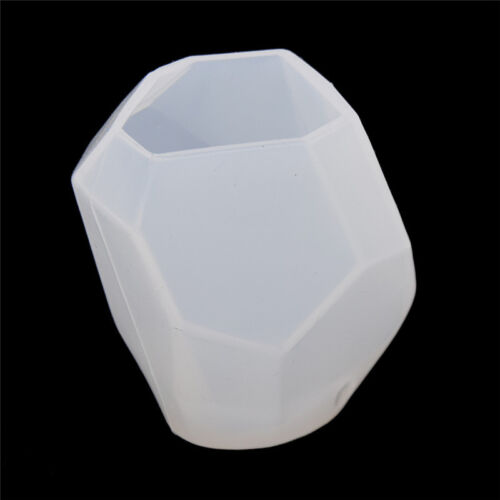 3D Polygon Silicone Candle Soap Molds Mould for Candle Making DIY Handcraft Tool