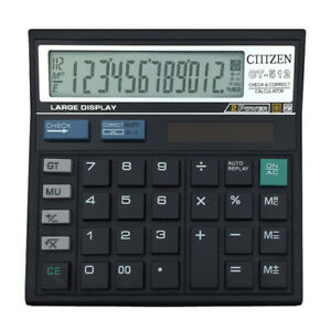 12-Digit-Desk-Calculator-Large-Buttons-Solar-Power-Desktop-Battery-Shop-School-c