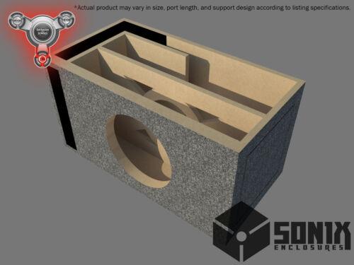 PORTED SUBWOOFER MDF ENCLOSURE FOR MMATS JUGGERNAUT 15 SUB BOX STAGE 2