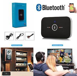 Trasmettitore e Ricevitore Wireless 2in1 Audio Adattatore Stereo Bluetooth AUX