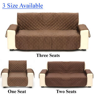 Prime 1 2 3 Seats Couch Sofa Cover Pad Quilted Slipcover Pet Kid Lamtechconsult Wood Chair Design Ideas Lamtechconsultcom