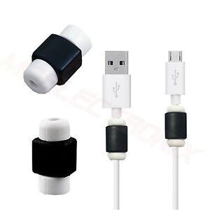 2x Kabelschutz Ladekabel Schutz Kappen Kabel Für Phonemax Saturn X
