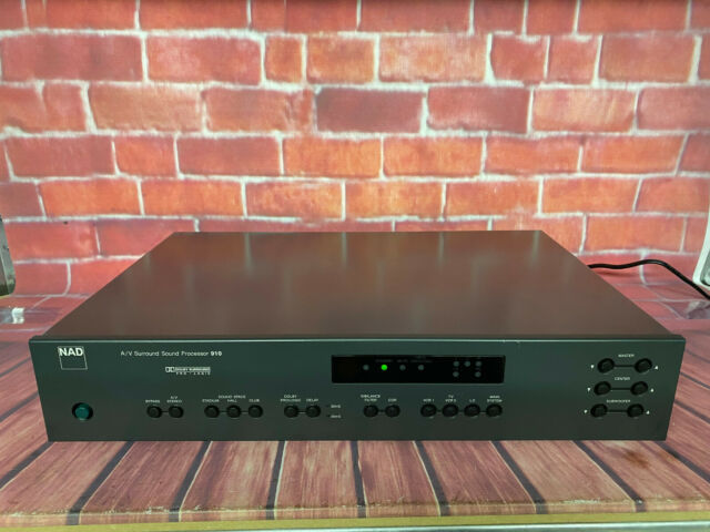 NAD A / V Surround Sound Processor 910
