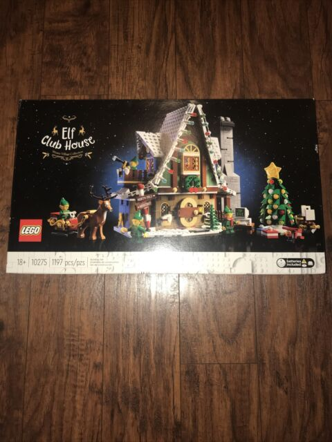 Brand New Sealed LEGO Christmas Elf Club House Winter Village Collection 10275