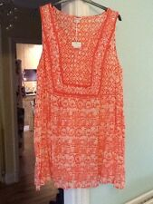 Monsoon Xl Tunic Top, Nwt